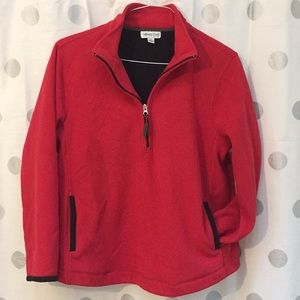 Like new Coldwater Creek fleece pull over jacket